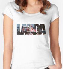 Niki Lauda - World Champion Women's Fitted Scoop T-Shirt