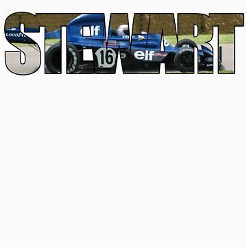 Jackie Stewart - campeona del mundo de Venusta