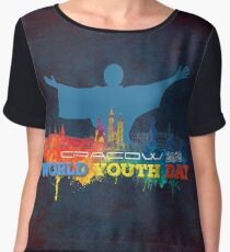 World Youth Day Cracow 2016 Chiffon Top