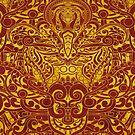 Balinese Abstract Art by elangkarosingo