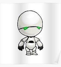 Freeze? I'm a robot. I'm not a refrigerator. Poster