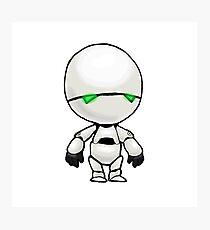 Freeze? I'm a robot. I'm not a refrigerator. Photographic Print