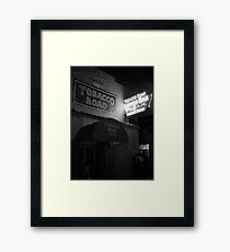 The Legendary Tobacco Road, Miami's Oldest Bar Framed Print