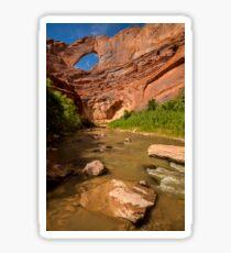 Stevens Arch - Escalante River - Grand Staircase - Utah Sticker