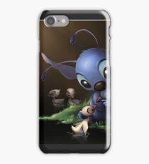 Stitch and Ducklings iPhone Case/Skin