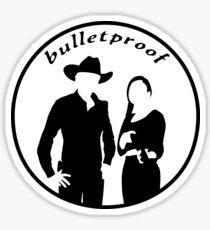 Bulletproof Sticker