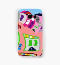 Happy Town by Roger Pickar, Goofy America Samsung Galaxy Case/Skin