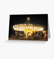 Carrousel Greeting Card