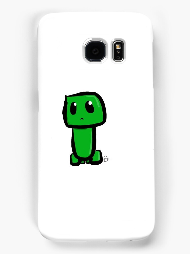 Minecraft Chibi Creeper  by shadowpuppeteer