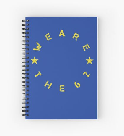We Are The 62% (Circular) Spiral Notebook