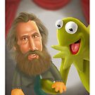 Jim Henson caricature by StudioDomingos