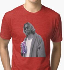 69 cent.  Jeffrey Lebowski shopping for Half & Half Tri-blend T-Shirt
