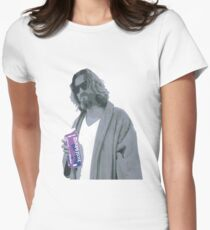 69 cent.  Jeffrey Lebowski shopping for Half & Half Womens Fitted T-Shirt