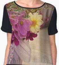 Garden Fresh Bouquet Women's Chiffon Top