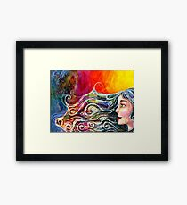 Bohemian Fire Framed Print
