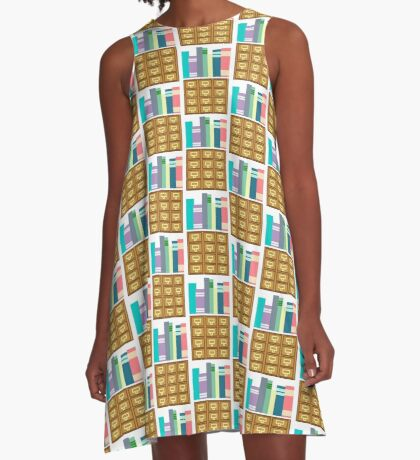 I'm Booked A-Line Dress