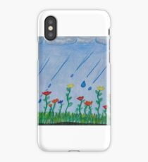no rain no flowers iPhone Case