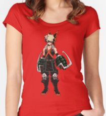Bakugou Fitted Scoop T-Shirt