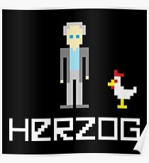 Herzog Pixel Poster