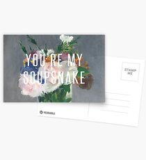you're my soupsnake Postcards