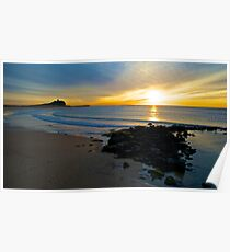 Sunrise at Nobbys Beach Poster