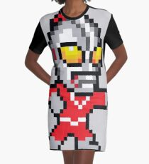 Mega Ultraman Graphic T-Shirt Dress