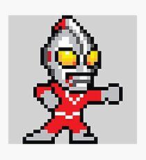 Mega Ultraman Photographic Print