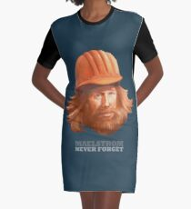 Maelstrom - Never Forget - Construction Worker Graphic T-Shirt Dress