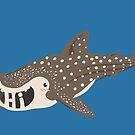 """Whale Shark """"Hi"""" by Veronica Guzzardi"""