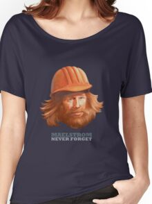 Maelstrom - Never Forget - Construction Worker Women's Relaxed Fit T-Shirt