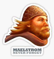 Maelstrom - Never Forget - Viking Sticker
