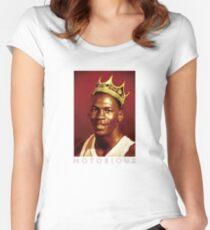 Notorious Michael jordan chicago Women's Fitted Scoop T-Shirt