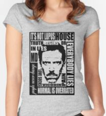House MD Women's Fitted Scoop T-Shirt