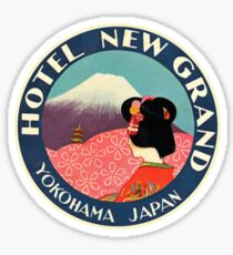 Vintage Travel - JAPAN Sticker