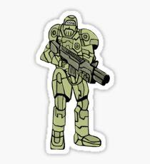 Future soldier Sticker