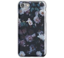Dark Flowers iPhone Case/Skin