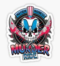 Murder Ride Sticker