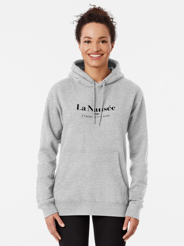Alternate view of La Nausée Pullover Hoodie