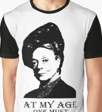 At my age one must ration one's excitement Graphic T-Shirt