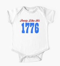 Party Like it's 1776 Kids Clothes