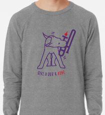 Gib einem Hund einen Knochen Leichter Pullover
