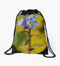 Forget-Me-Not Drawstring Bag