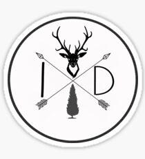 Northwest is best- Idaho Version 2 Sticker