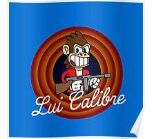 Lui Calibre 1930's Cartoon Character Poster