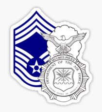 Security Forces Chief  Sticker