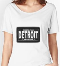 Imported From Detroit Women's Relaxed Fit T-Shirt