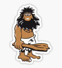 Stone Age man caveman funny Sticker