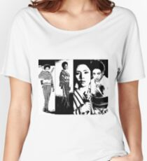 Faces of Lady Snowblood Women's Relaxed Fit T-Shirt