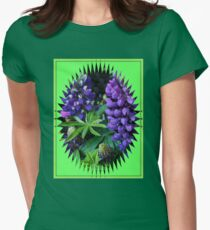 Lupins in Mirror Frame T-Shirt