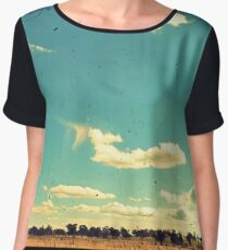 Thunderbolt Country Through The Viewfinder (TTV) Women's Chiffon Top